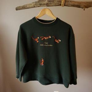 Disney tigger sweatshirt medium